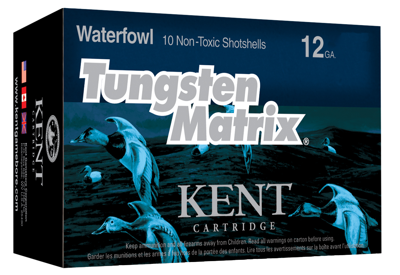 Kent Cartridge Tungsten Matrix Waterfowl Ammunition 12 Gauge 2-3/4