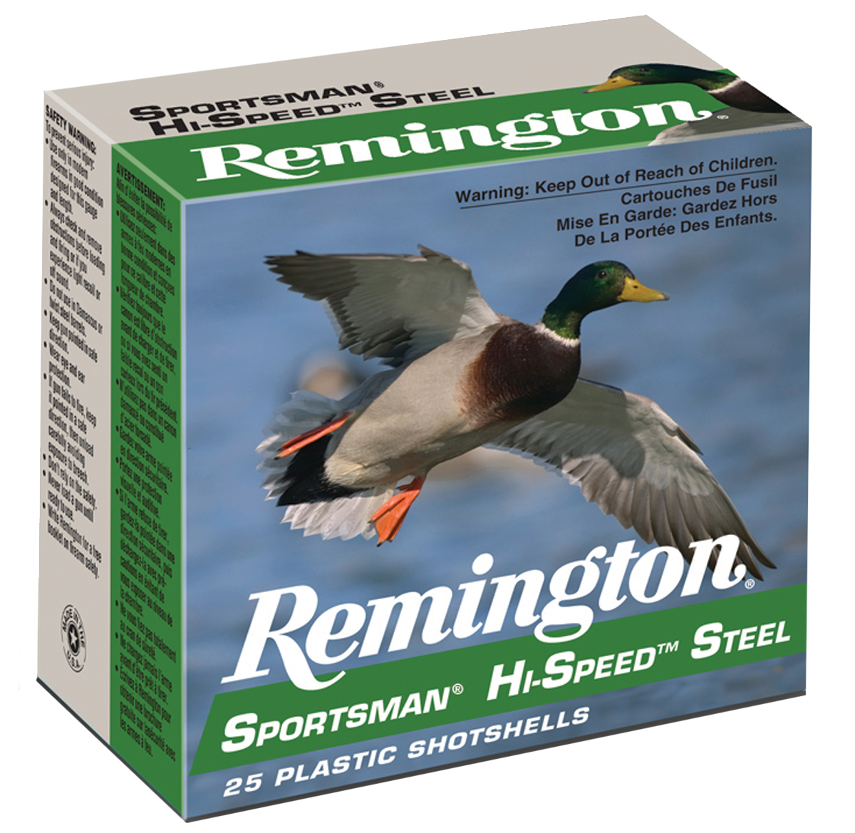 Remington Sportsman Hi-Speed Waterfowl Ammunition 20 Gauge 2-3/4