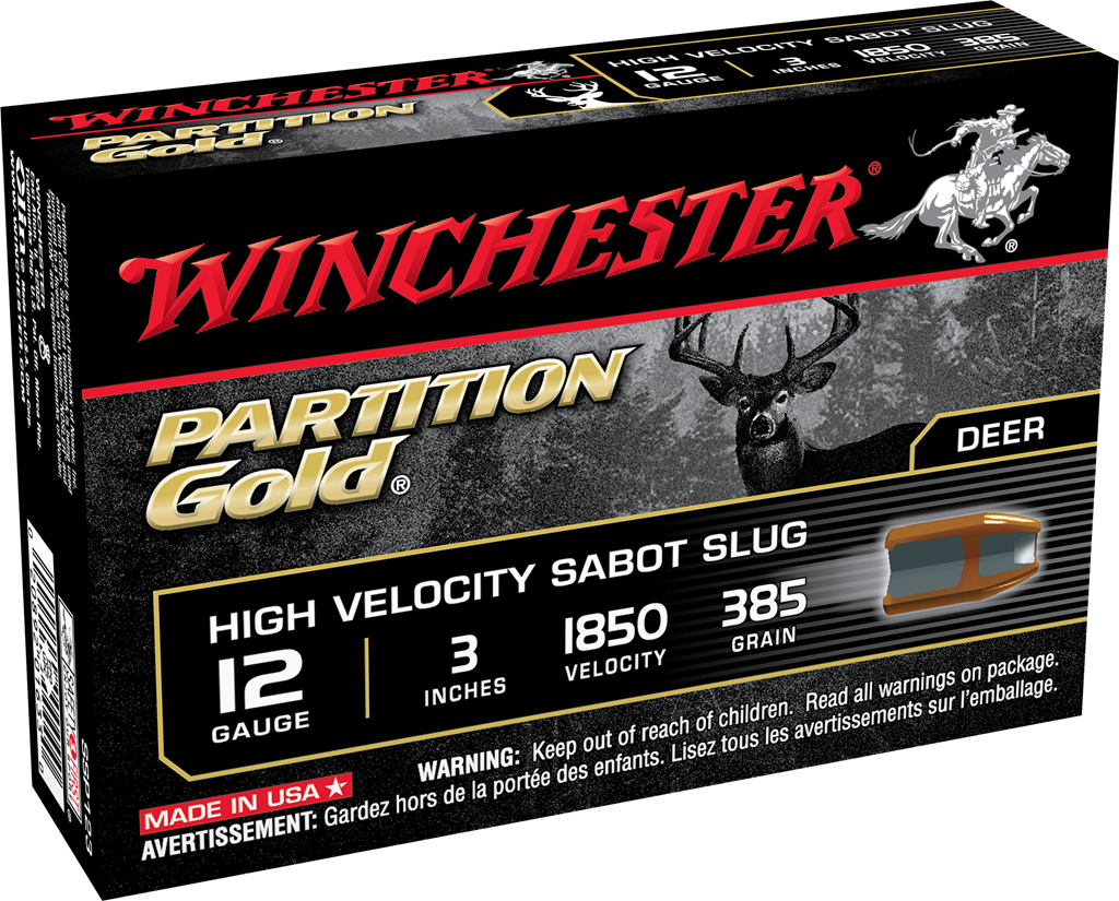 Winchester Partition Gold Slug 12 Gauge 3