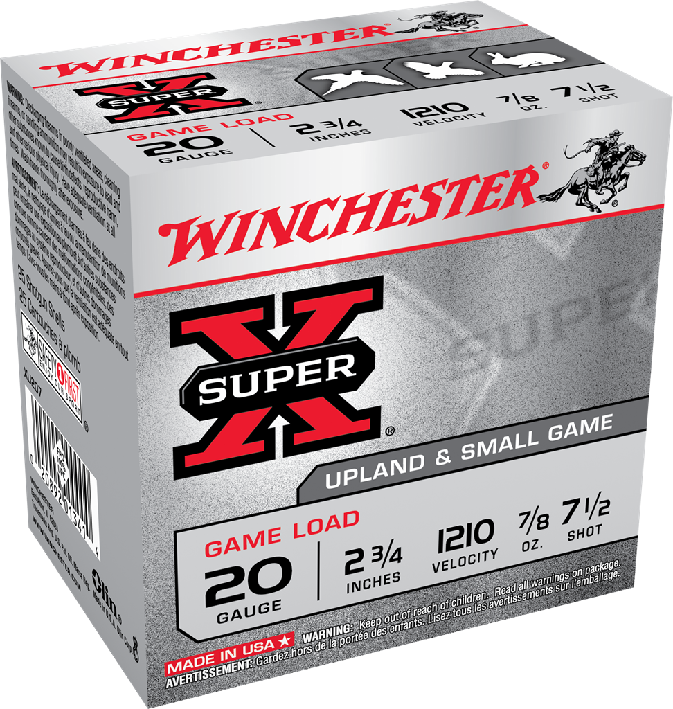 Winchester Super-X Game Load 20 Gauge 2-3/4