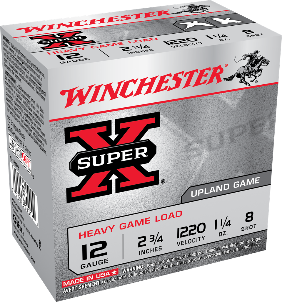 Winchester Super-X Heavy Game Load 12 Gauge 2-3/4