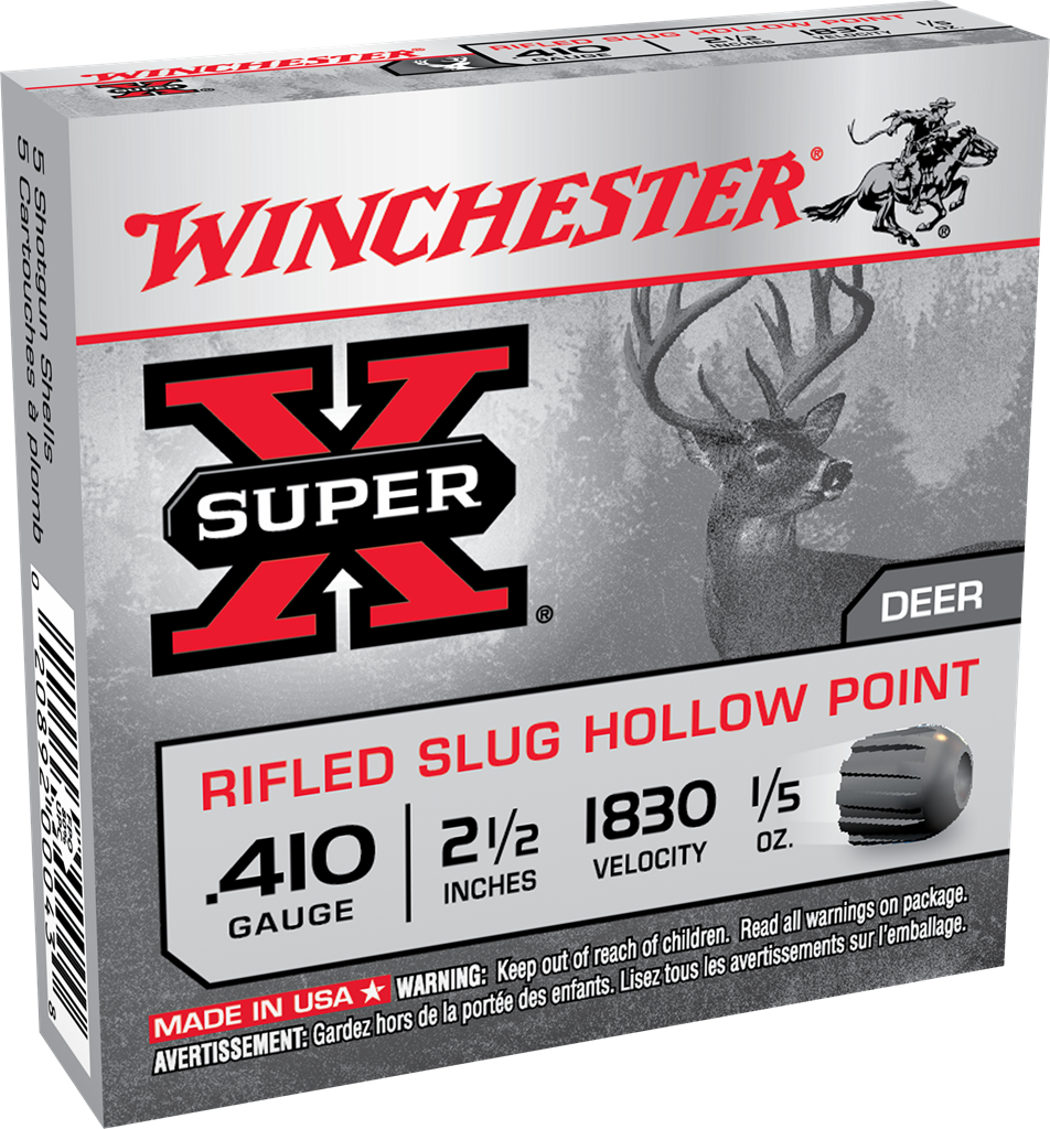 Winchester Super-X Slug 410 Bore 2-1/2