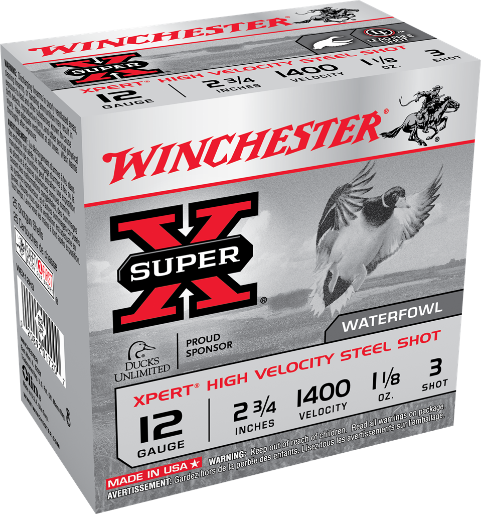 Winchester Xpert High Velocity Waterfowl Ammunition 12 Gauge 2-3/4