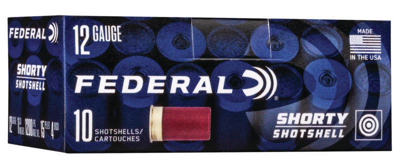 Federal Shorty Buckshot Ammunition 12 Gauge 1-3/4