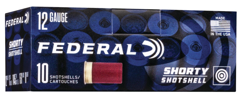 Federal Shorty Target Load Ammunition 12 Gauge 1-3/4