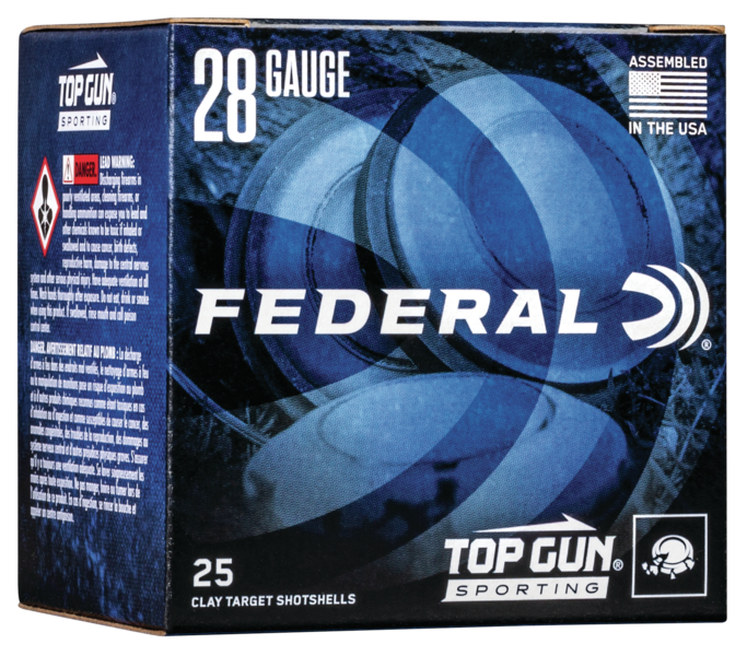 Federal Top Gun Sporting Target Load Ammunition 28 Gauge 2-3/4