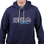 Highby Outdoors Navy Hoodie - Large