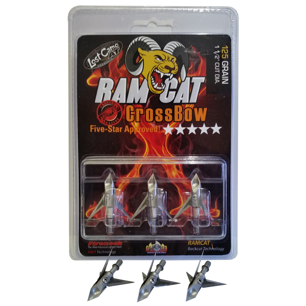 Ramcat Crossbow Broadhead - 125 gr. 3 Pack