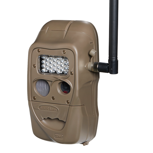Cuddeback CuddeLink Long Range 20 MP Trail Cameras - 4 Pack - Brown