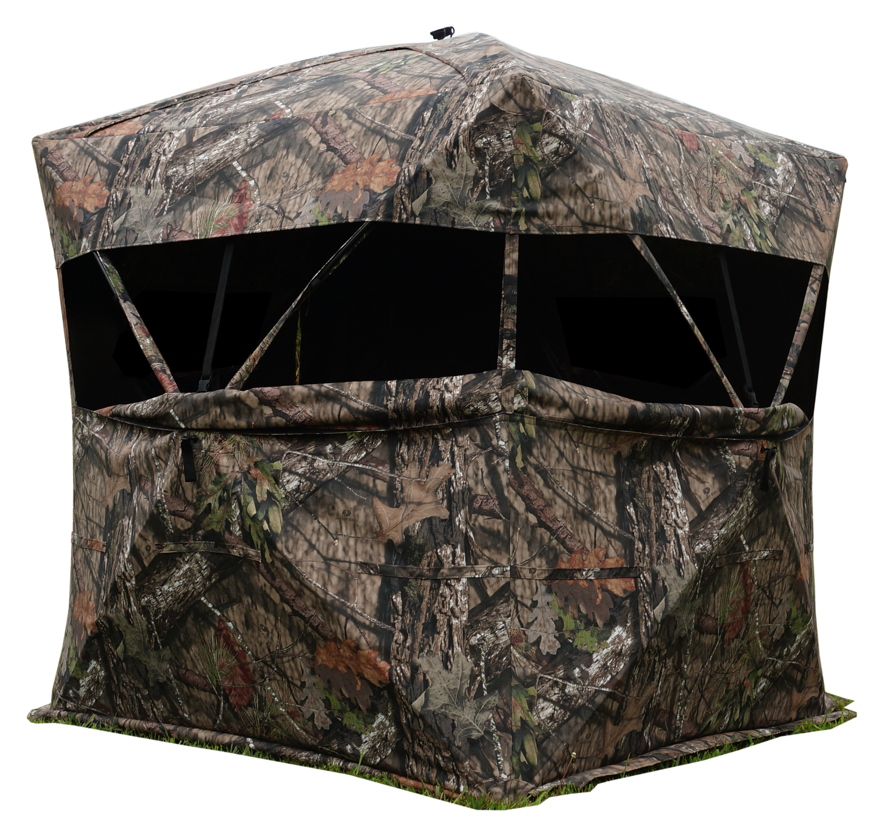 Rhino 600 Oversized Hub Style Ground Blind - Mossy Oak Break Up Country