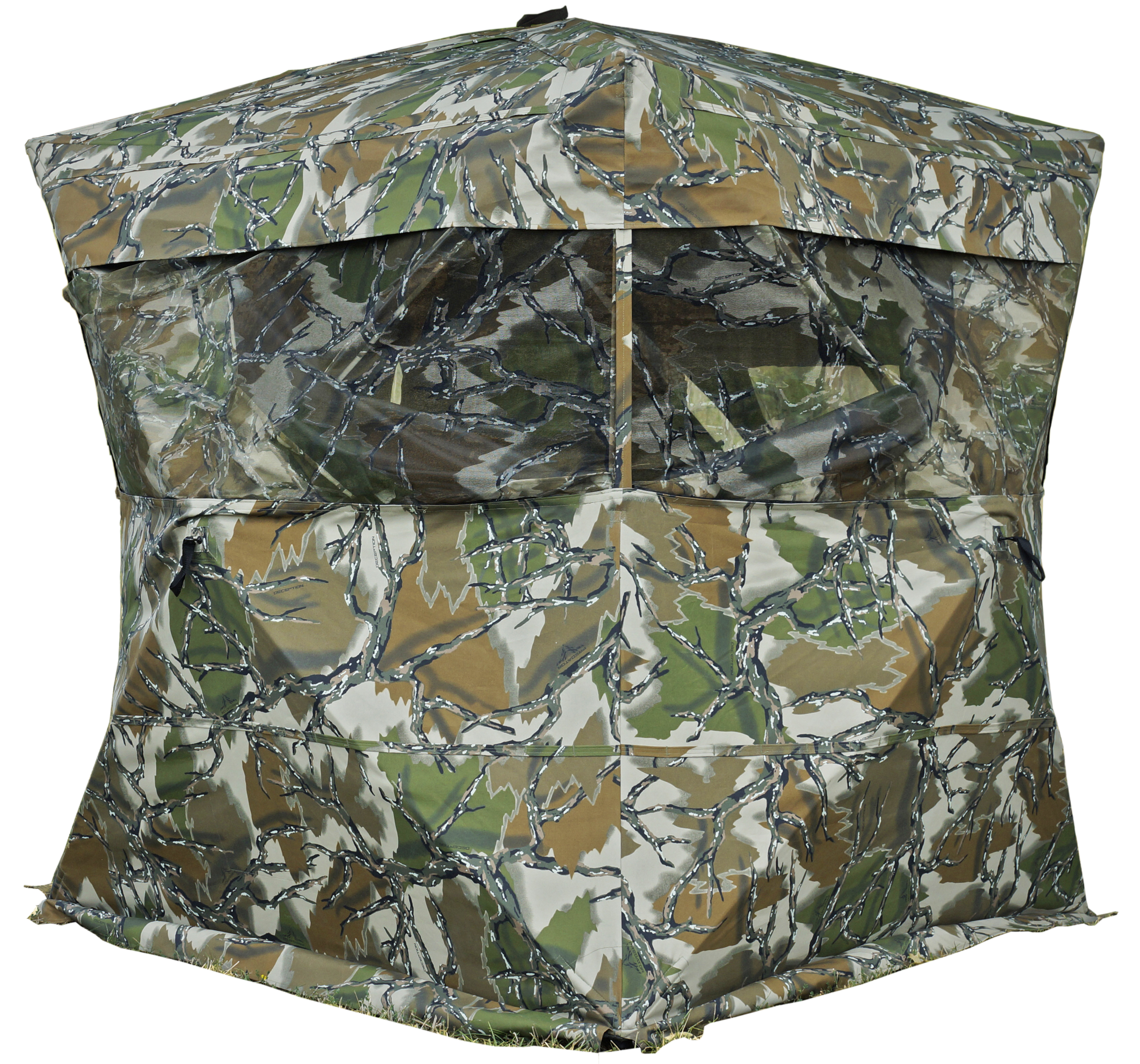 Rhino 600 Oversized Hub Style Ground Blind - Predator Deception