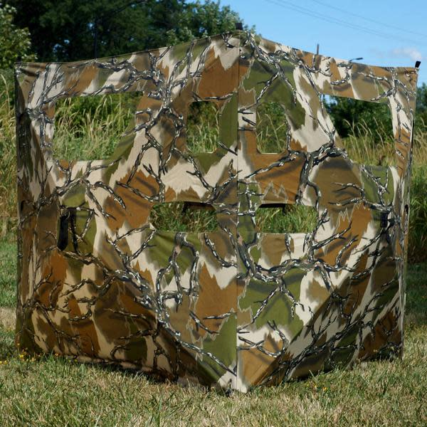 Rhino Cut N Run Ground Blind - Predator Deception