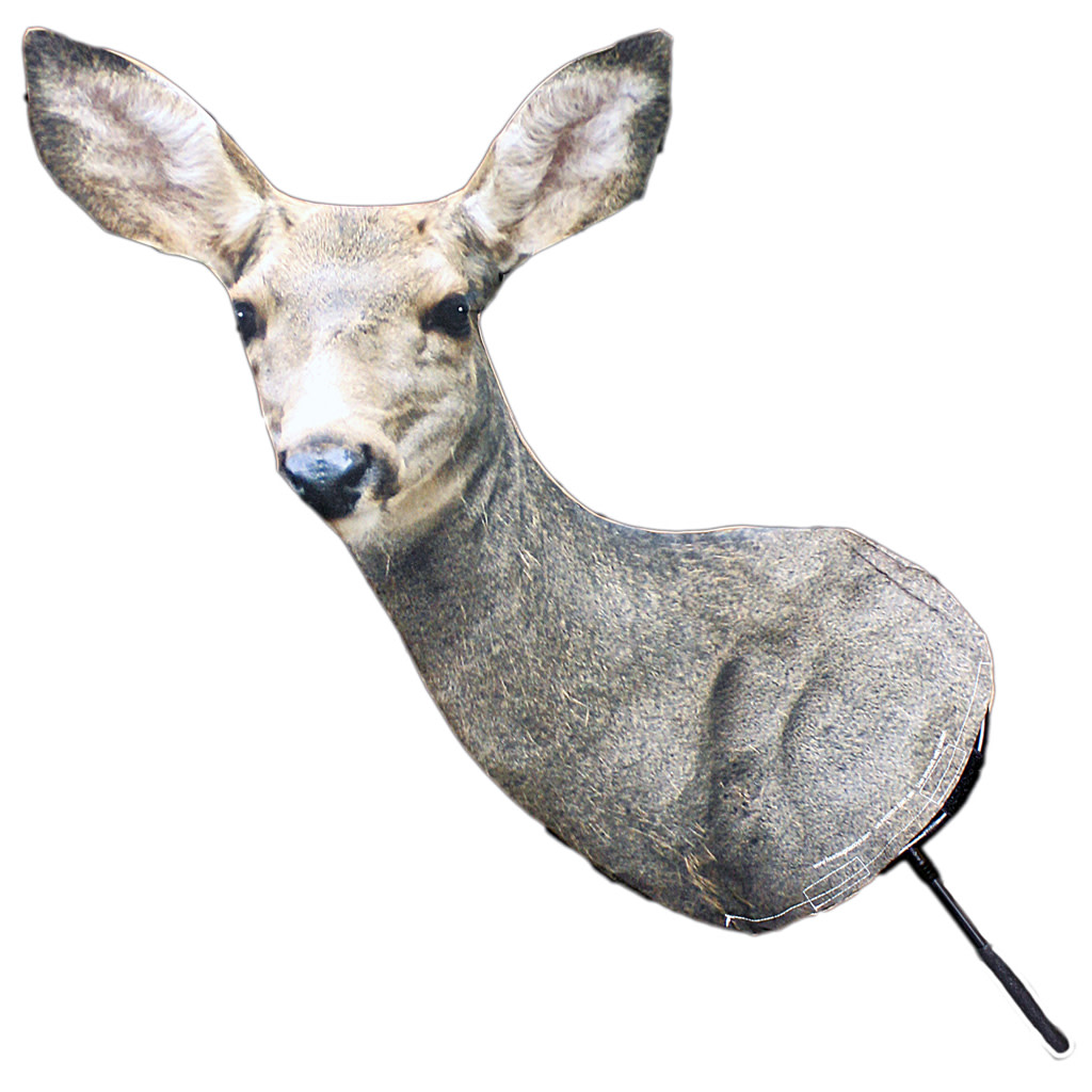 Heads Up Mule Deer Doe Decoy