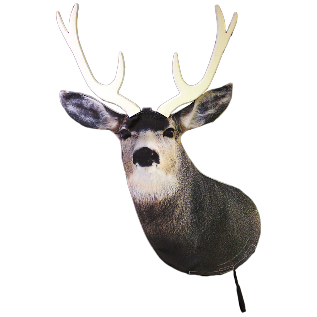 Heads Up Mule Deer Buck Decoy
