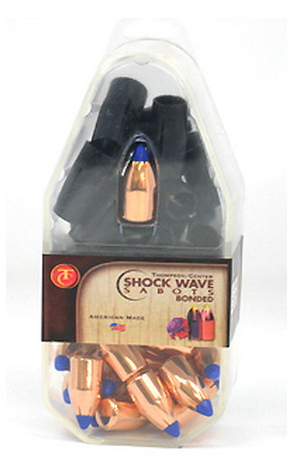 T/C Shock Wave Bonded Core Saboted Bullets - .50 Caliber 250GR Polymer Tip Flat Base Per 15