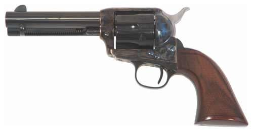 Cimarron Evil Roy Competition Revolver - .45 Colt 6 rd - Walnut/Case Hardened/Blued