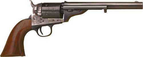 Cimarron 1872 Open Top Army Revolver - .45 Colt 6rd - Walnut/Case Hardened/Blued
