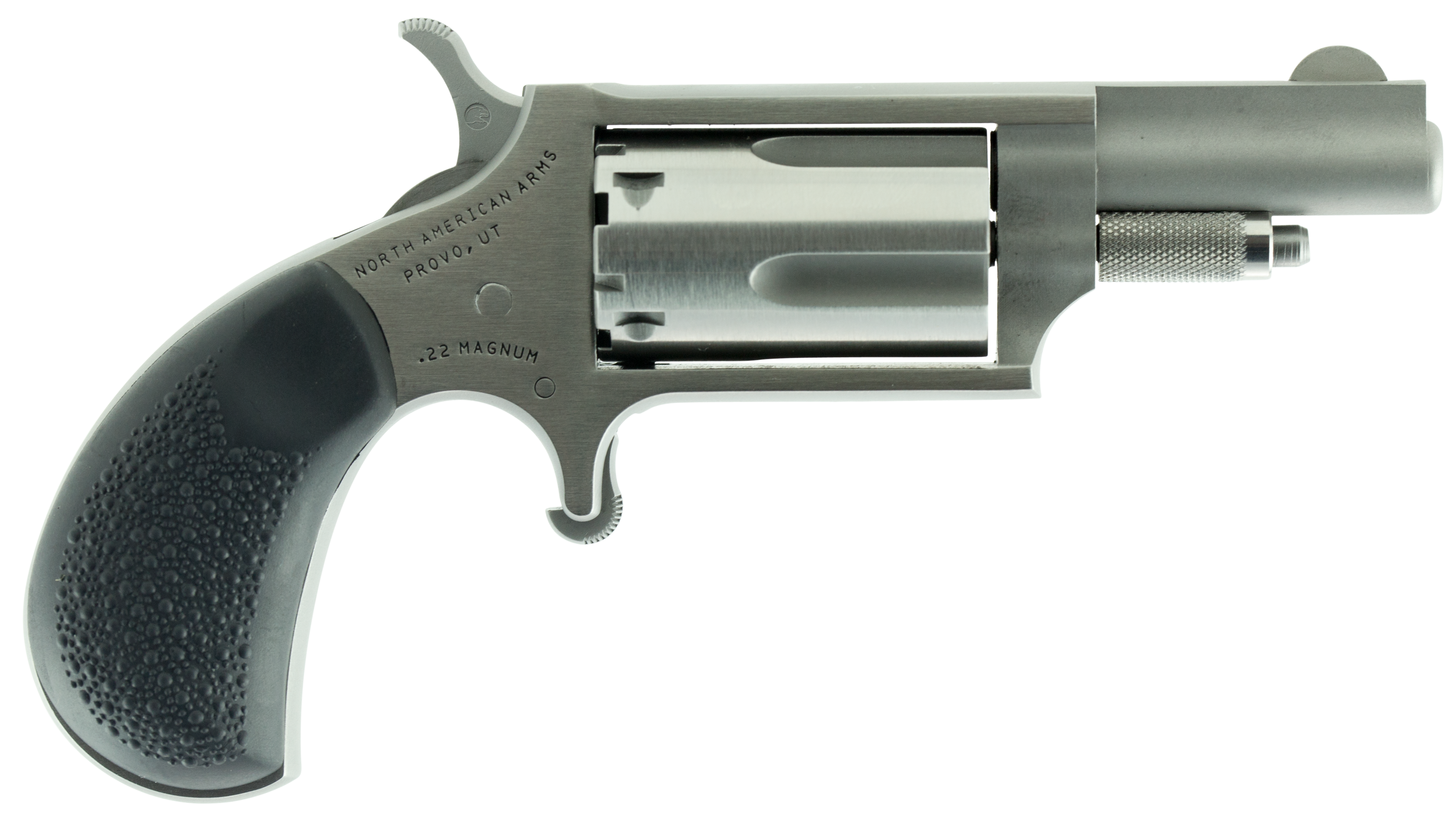 NAA Mini Revolver - .22 Magnum 5rd - Black/Stainless