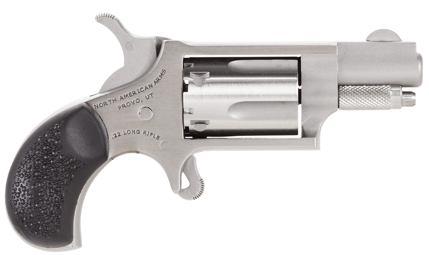 NAA Mini Revolver - .22 LR 5rd - Black/Stainless
