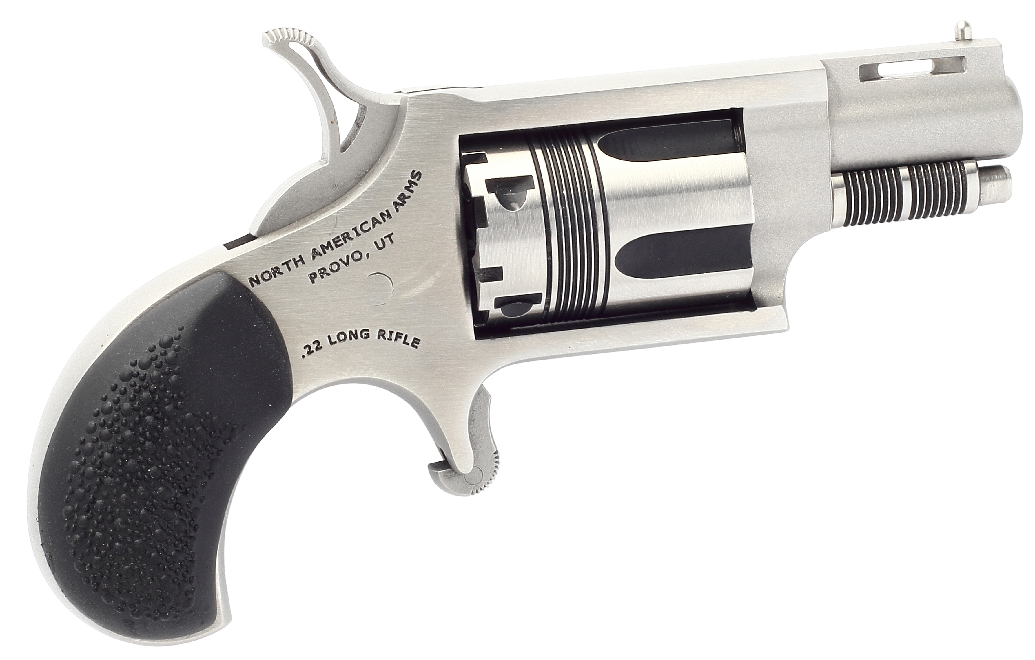 NAA The Wasp Revolver - .22 LR 5rd - Black/Stainless
