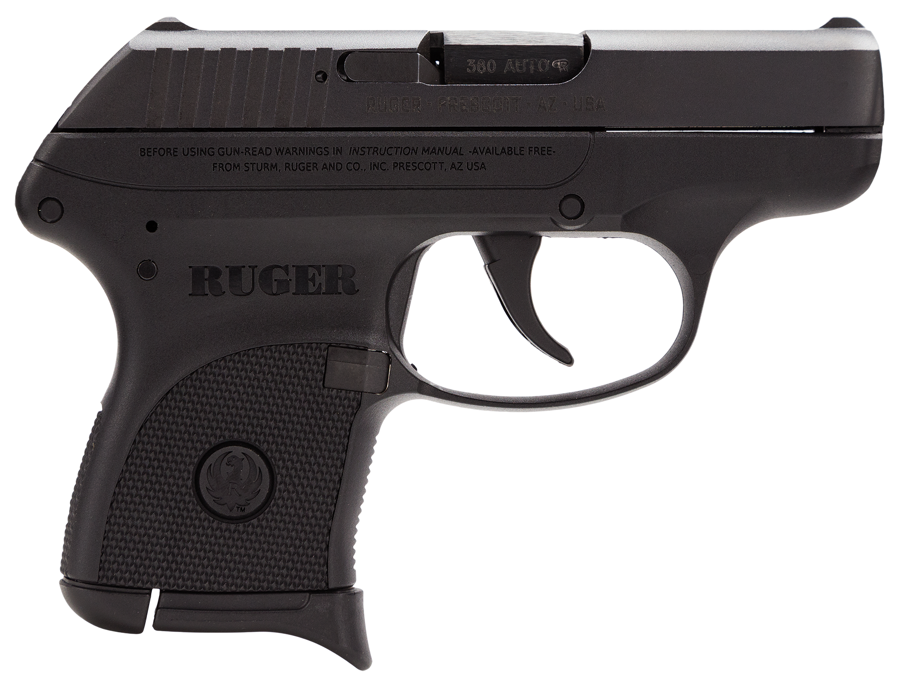 Ruger® LCP® Pistol - .380 ACP 6+1 - Black/Blued