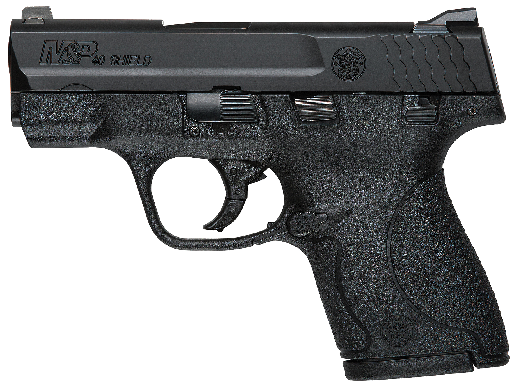 S&W® M&P®40 Shield™ Pistol - .40 S&W 7+1/6+1 - Black