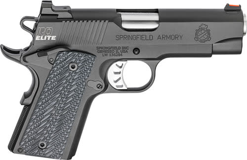 Springfield Armory® 1911 Range Officer®  Elite Compact Pistol - .45 ACP 6+1 - 4
