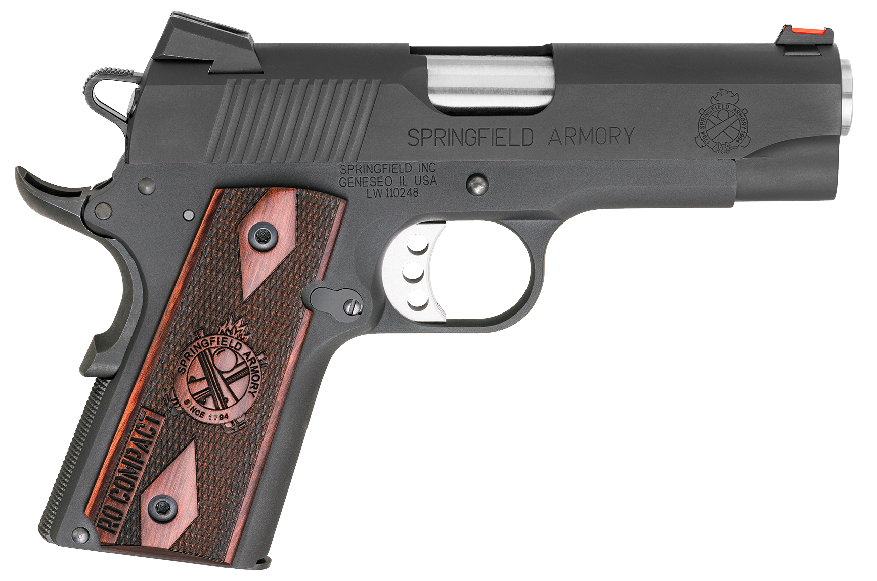 Springfield Armory® 1911 Range Officer® Compact Pistol - .45 ACP 6+1 - 4
