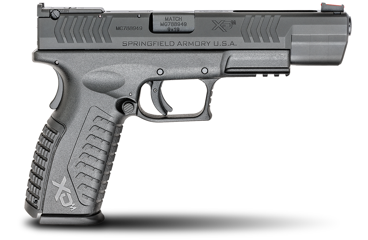 Springfield Armory® XD(M)® Competition Pistol - 9mm 10+1 - 5.25