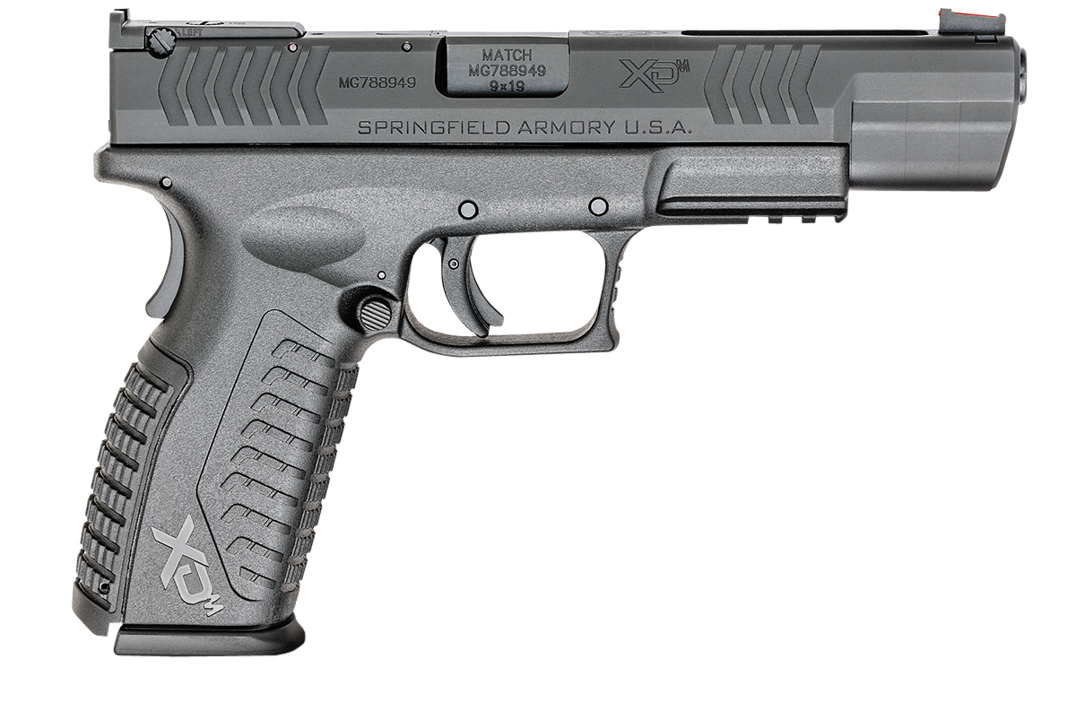Springfield Armory® XD(M)® Competition Pistol - 9mm 19+1 - 5.25