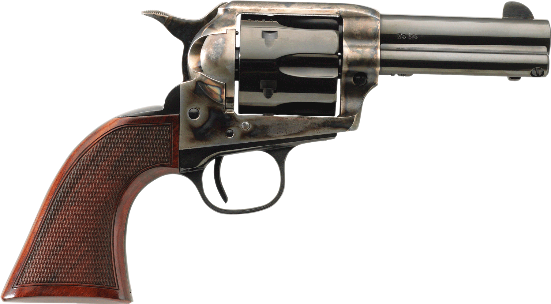 Taylor's & Co Runnin' Iron Revolver - .45 Colt 6rd - 4.75