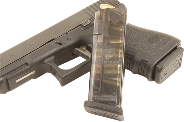 ETS GLOCK® G19/26 Magazine 9mm 10rd Clear