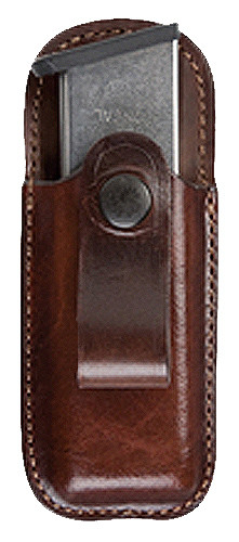 Bianchi® Model 21 Open Top Leather Magazine Pouch - Size 1 - Tan