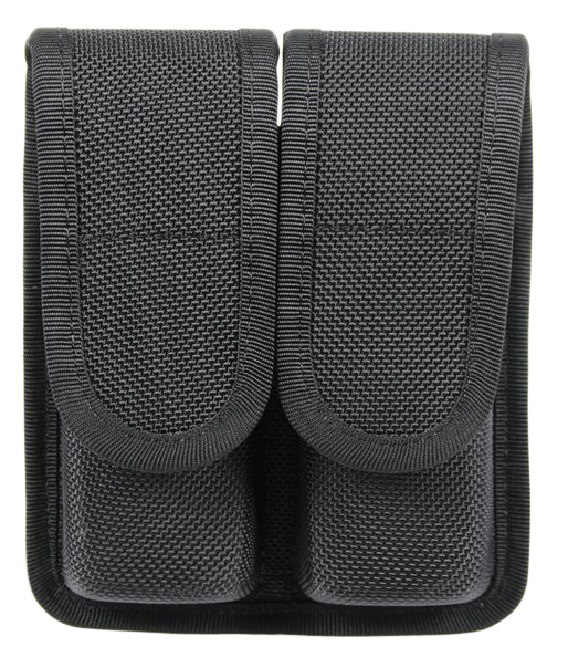 BLACKHAWK!® Nylon Double Magazine Pouch - Double Stack 9mm/.357 Sig/.40 S&W - Black