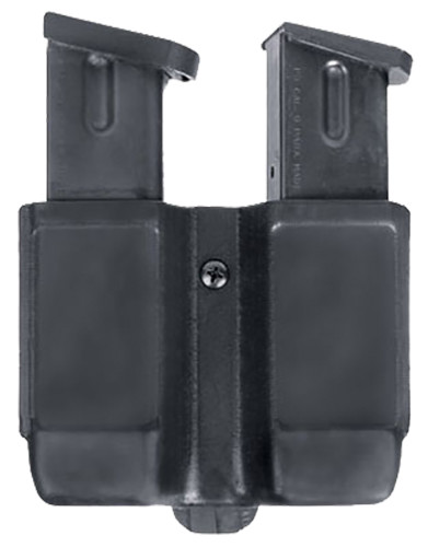 BLACKHAWK!® Polymer Double Magazine Pouch - Single Stack - Black