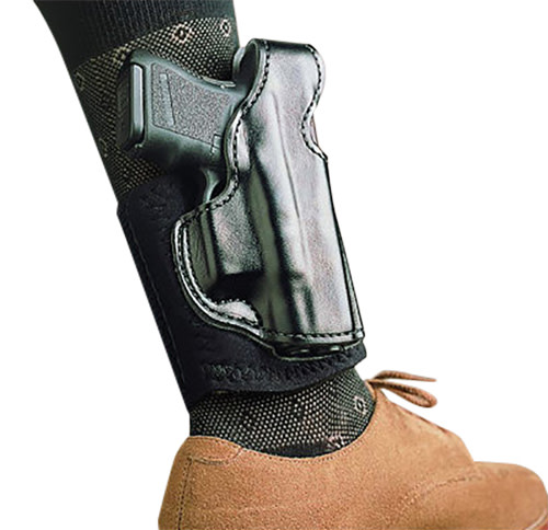 DeSantis Gunhide® Die Hard Ankle Rig Holster - S&W® M&P® Shield 9/40 - Black