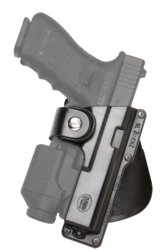 Fobus Tactical Paddle Holster - GLOCK G17/G22/G31 and Ruger American Pistol