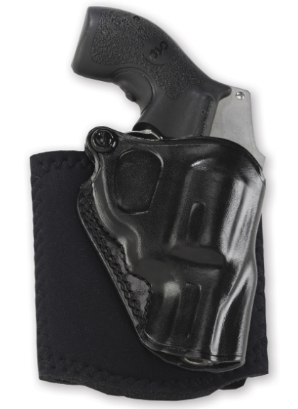 Galco Ankle Glove Holster - Left Hand - S&W J Frame