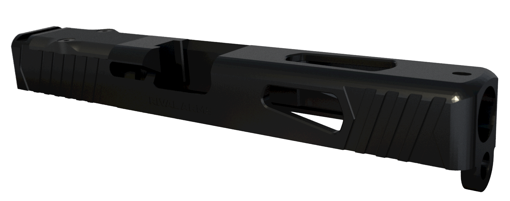 Rival Arms Precision Slide - Compatible with Glock 17 Gen 4 - RMR Ready