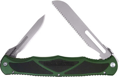Havalon® Hydra Double Replaceable Blade Folding Knife - Hunter Green