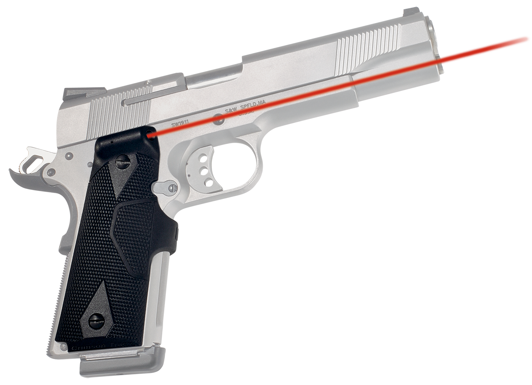 Crimson Trace® Lasergrips® - 1911 Full Size - Red Laser