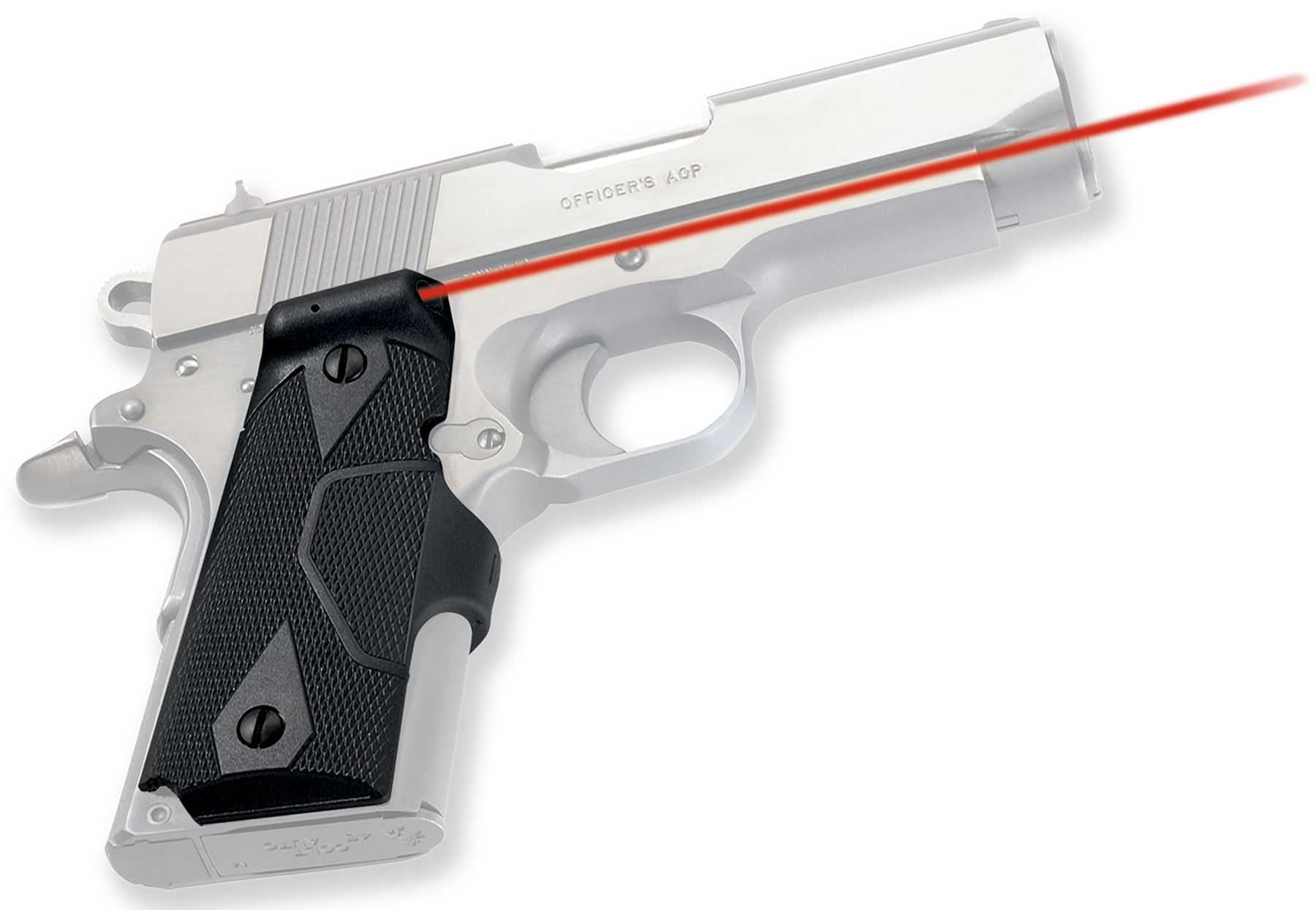 Crimson Trace® Lasergrips® - 1911 Compact - Red Laser