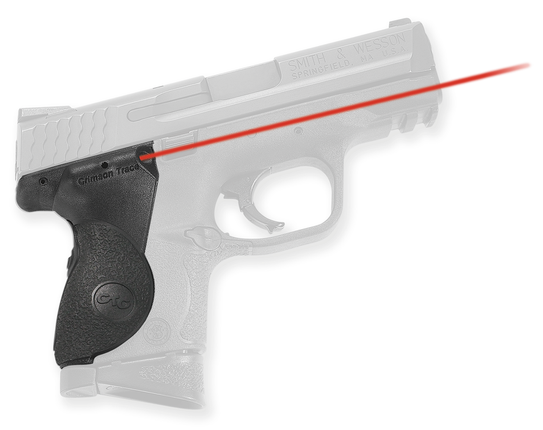 Crimson Trace® Lasergrips® - S&W® M&P® Compact - Red Laser