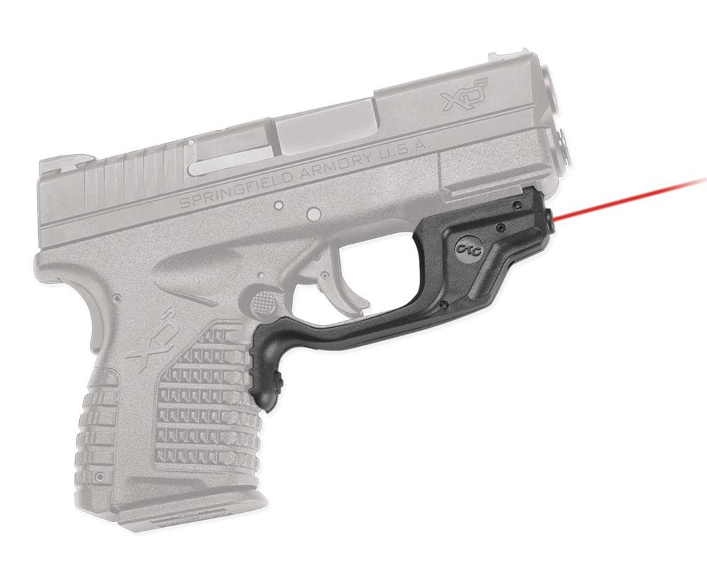 Crimson Trace® Laserguard® - Springfield® XD-S® - Red Laser