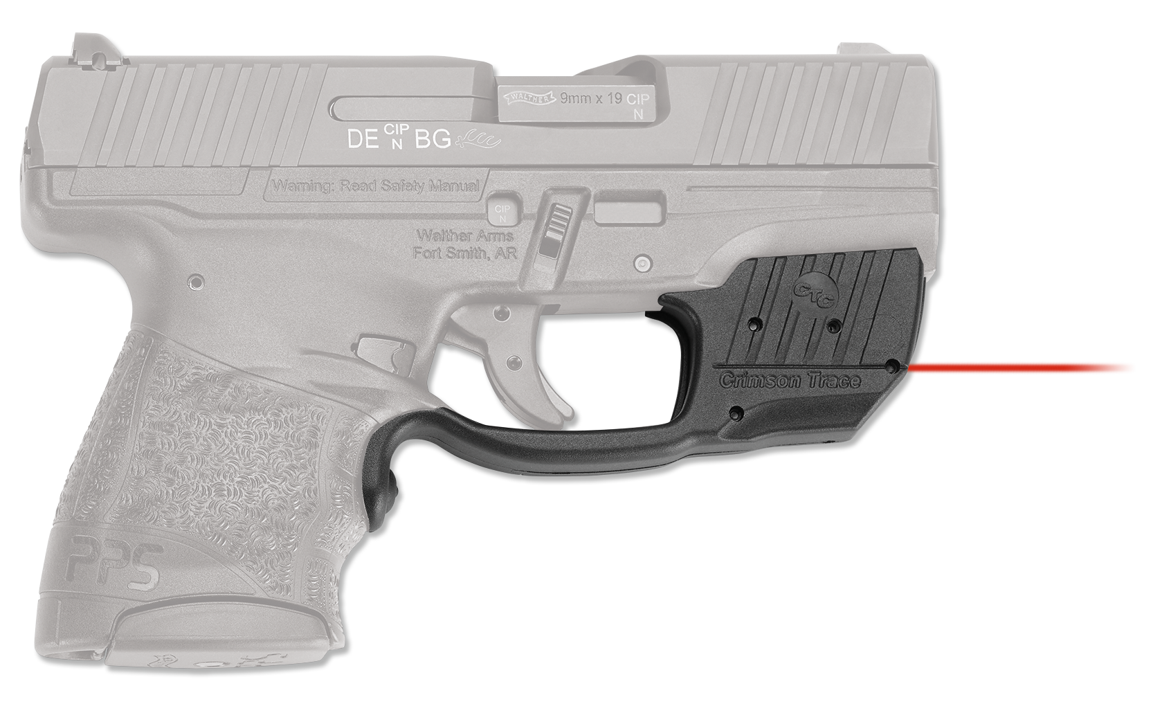 Crimson Trace® Laserguard® - Walther® PPS - Red Laser