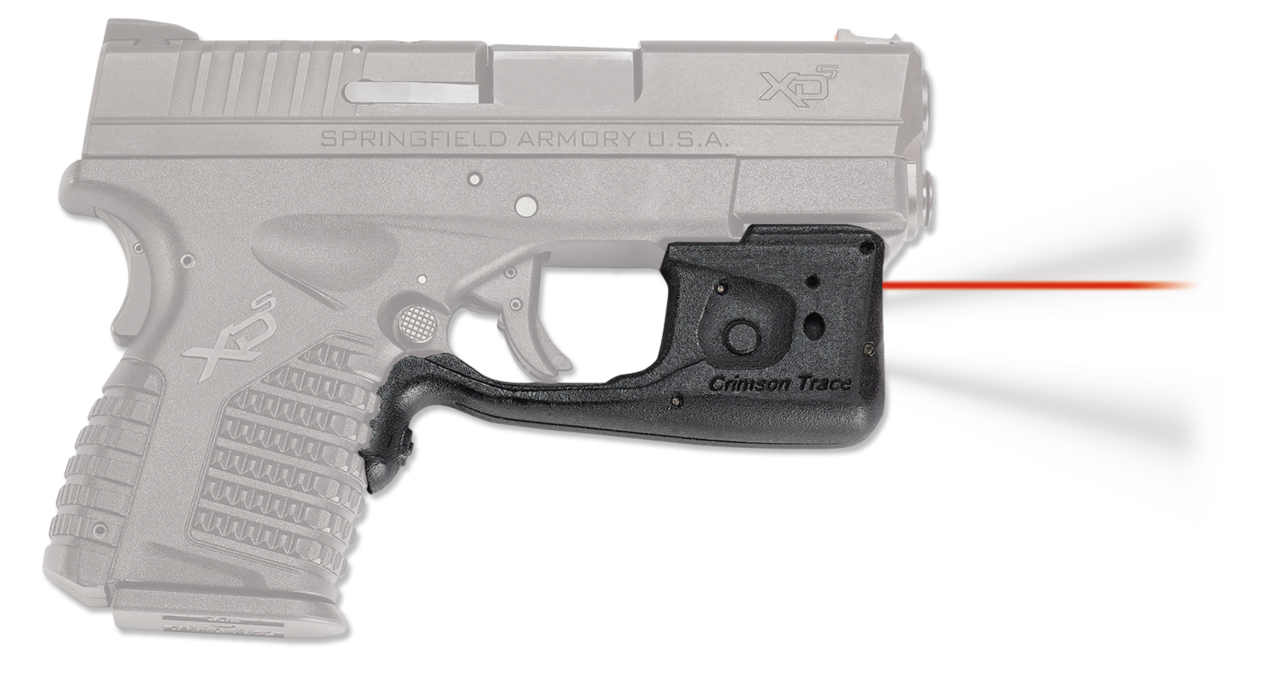 Crimson Trace® Laserguard® Pro™ - Springfield® XD-S® - Red Laser