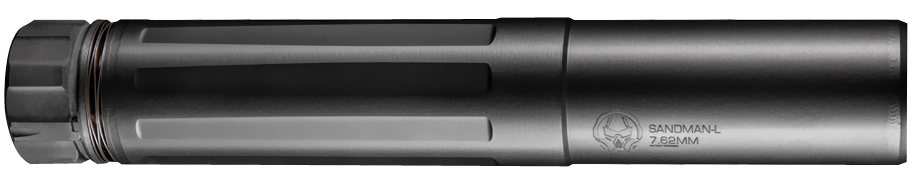 Dead Air Sandman-L Rifle Suppressor - 7.62 NATO - 5/8x24 - Quick-Detach - Black Cerakote