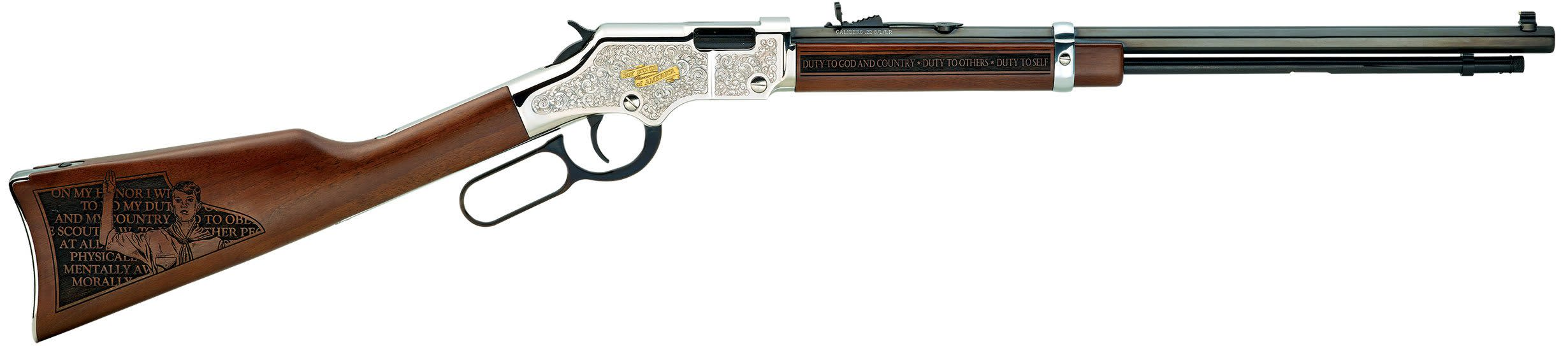 Henry Golden Boy Salute to Scouting Tribute Edition 22 LR 20