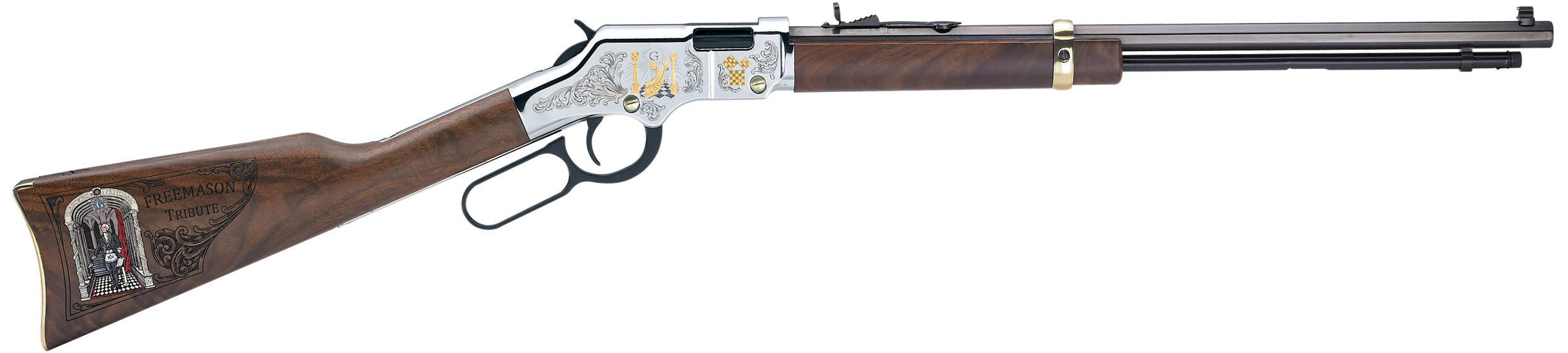 Henry Golden Boy Freemasons Tribute Edition 22 LR 20