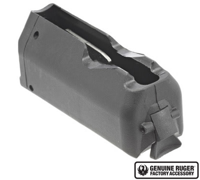 Ruger American Rifle Magazine 22-250 Remington - 4rd - Black Polymer